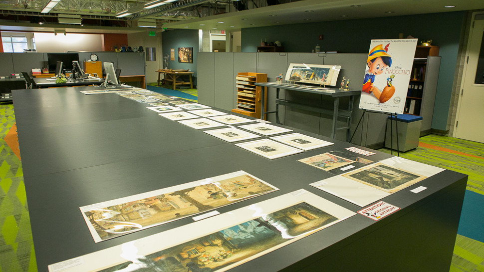 Here's What it's Like to Visit the Disney Animation Research Library