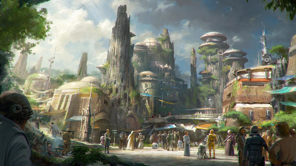 Everything We Know About Disney Parks' STAR WARS-Themed Land