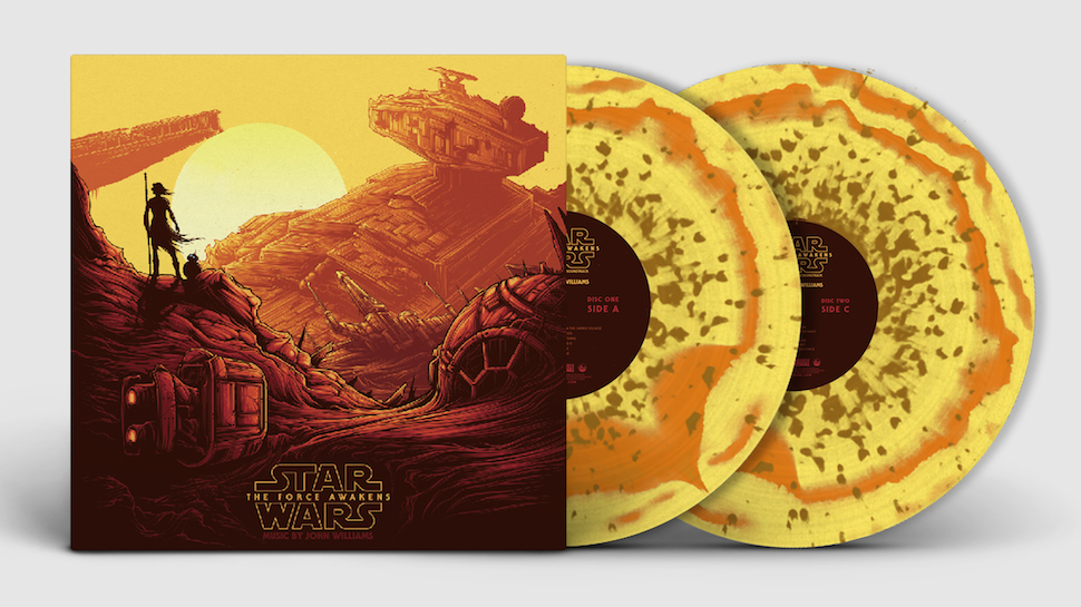 This STAR WARS: THE FORCE AWAKENS Collector's Vinyl is Gorgeous (Exclusive)