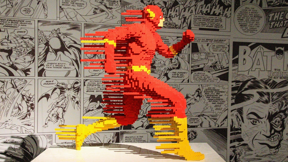These DC Comics LEGO Art Sculptures Are Heroic and Inspiring
