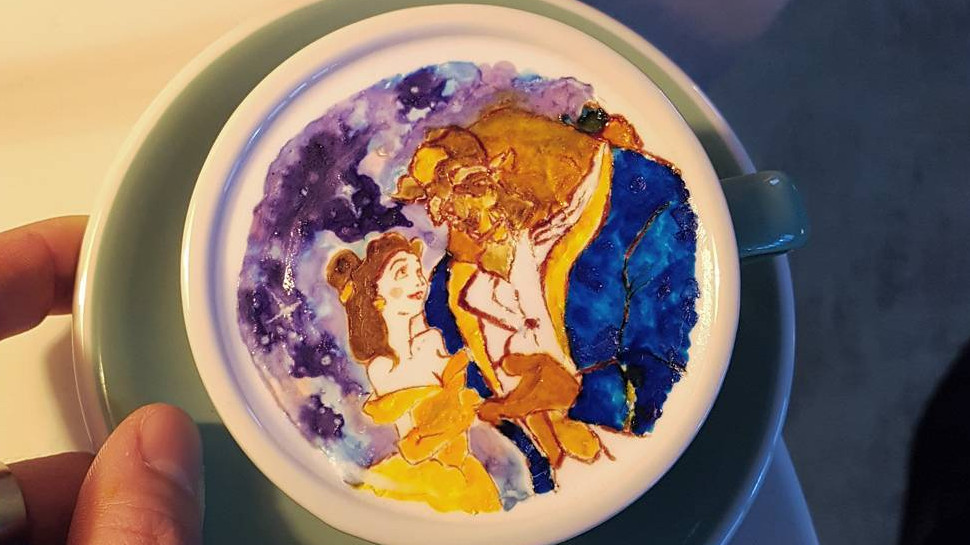 This Barista's Disney Latte Art Makes Caffeine Too Pretty to Consume