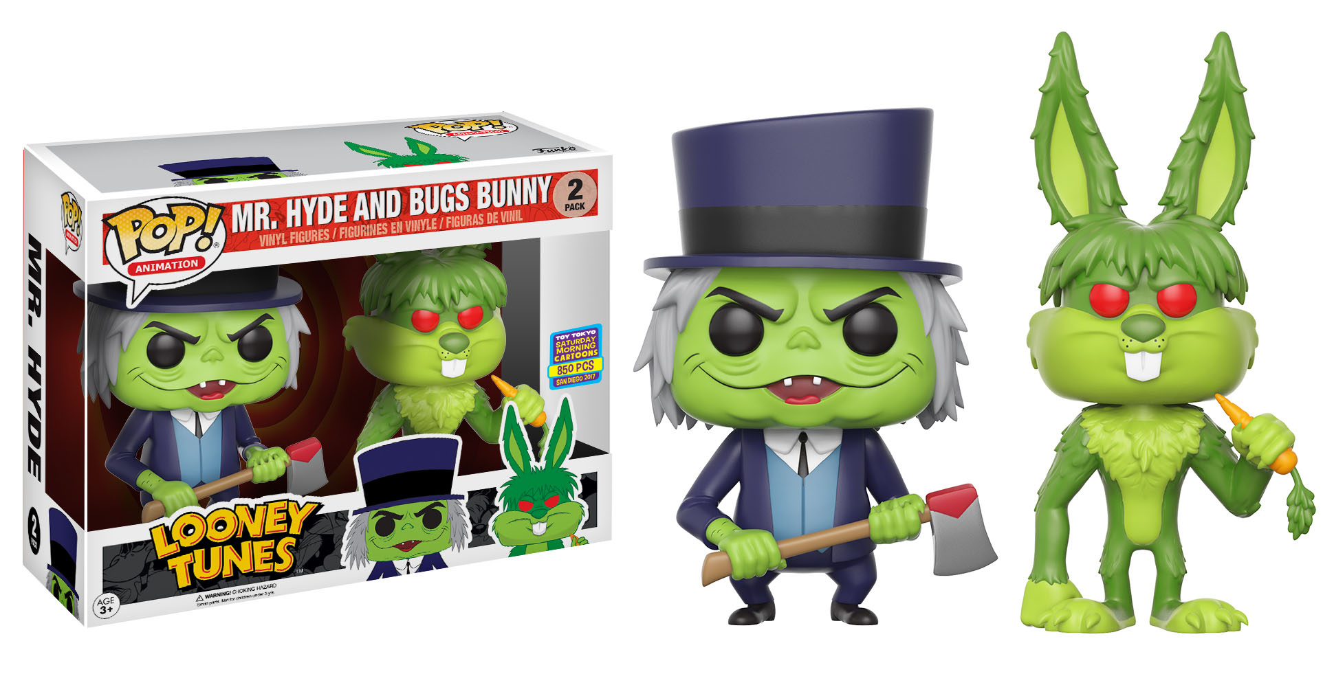 Looney Tunes Bugs MrHyde POP