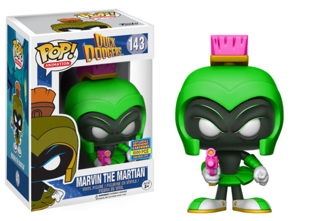 Duck Dodgers Green Marvin POP SDCC