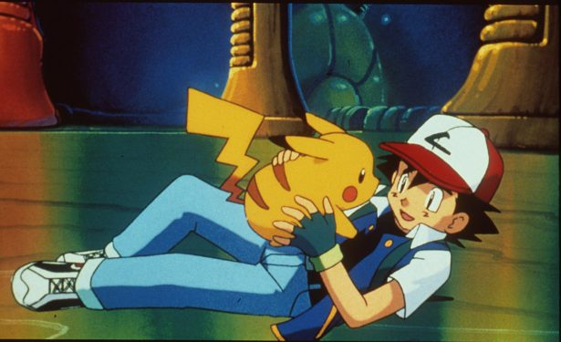"1999 Pikachu And Ash In The Animated Movie ""Pokemon:The First Movie."" (Photo By Getty Images)"