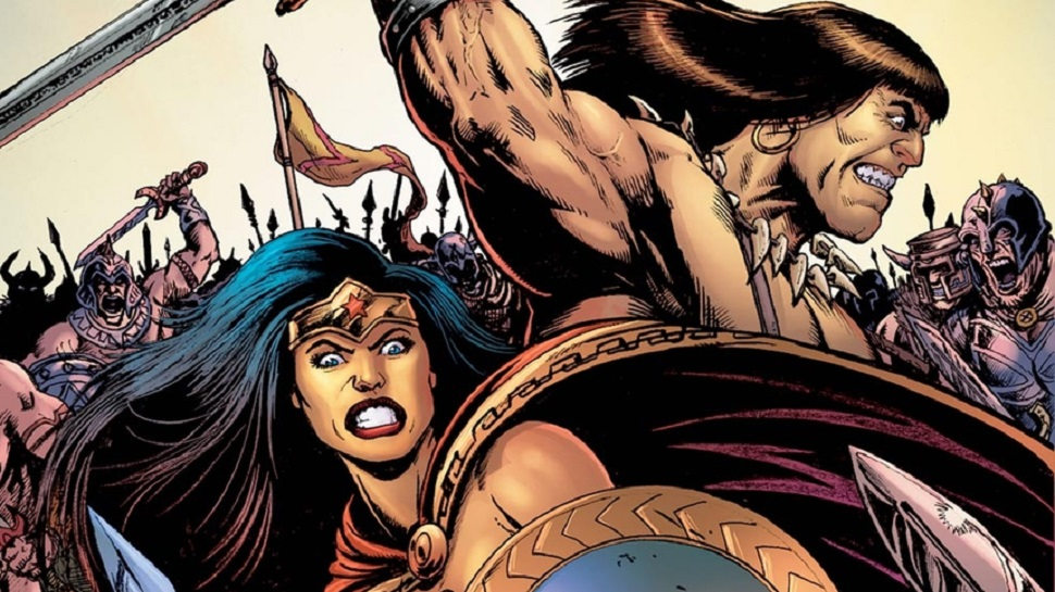 WONDER WOMAN and CONAN THE BARBARIAN Crossover Mini-Series Coming Soon