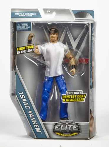WWE® Elite Collection Flashback Series Isaac Yankem™ Action Figure from Mattel