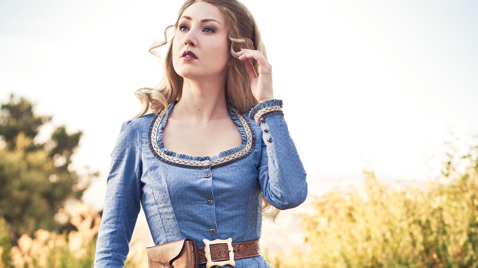 This WESTWORLD Dolores Costume Looks Like More Than Anything to Us