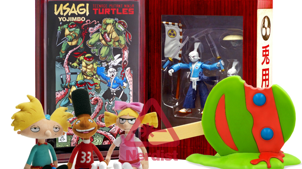 Nickelodeon Brings Powdered Toast Man, Hey Arnold!, and TMNT Swag to Comic-Con (Exclusive)