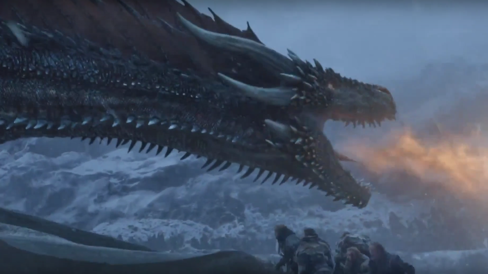 """""""Beyond the Wall"""" Confirmed How GAME OF THRONES' Dragons Breathe Fire"""