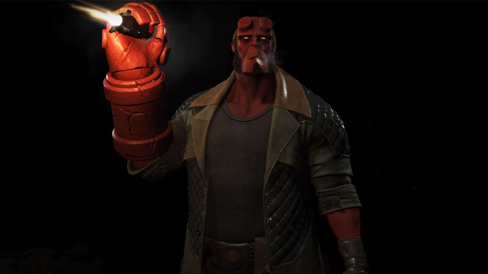 HELLBOY Will Join the DC Comics Heroes in INJUSTICE 2