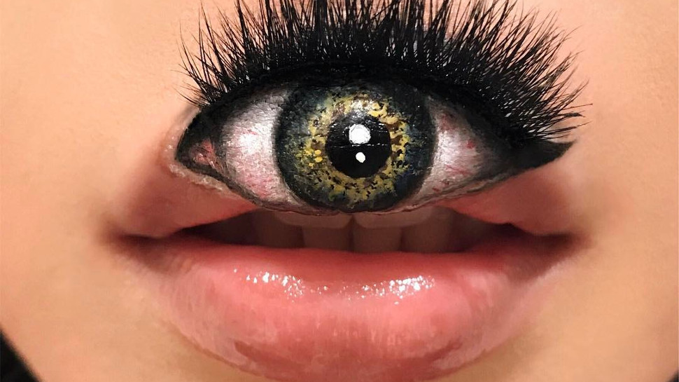 Mimi Choi's Makeup Optical Illusions Might Make Your Stomach Flip