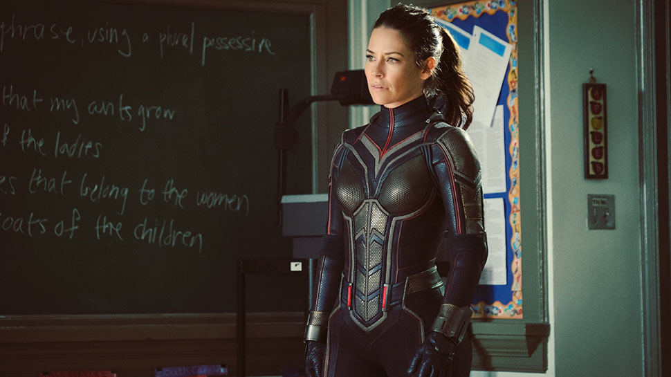 Image result for evangeline lilly wasp outfit movie
