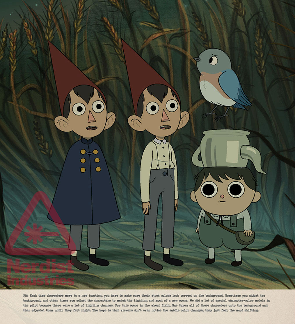 The Art Of Over The Garden Wall Takes Us Inside The Classic Miniseries Exclusive Preview Nerdist