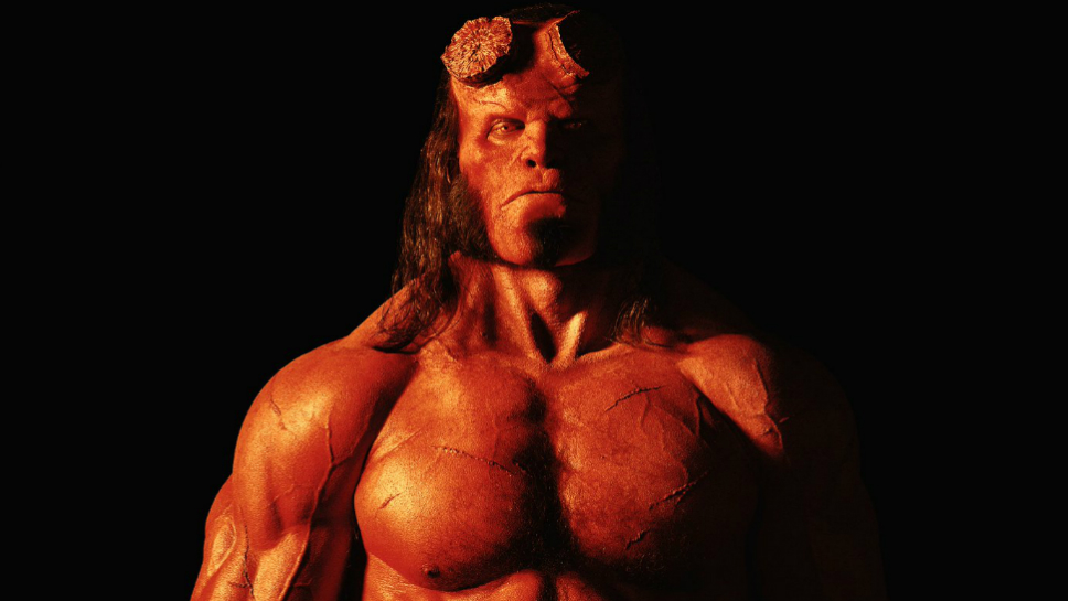 Here's Your Official First Look at David Harbour as HELLBOY