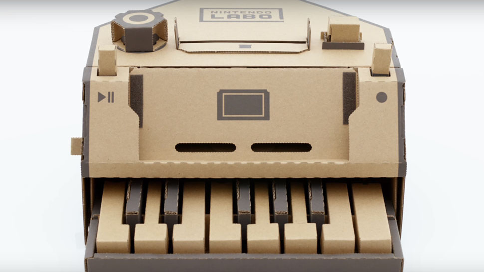 Nintendo LABO Cardboard Creations Unveiled, Launches April 20th