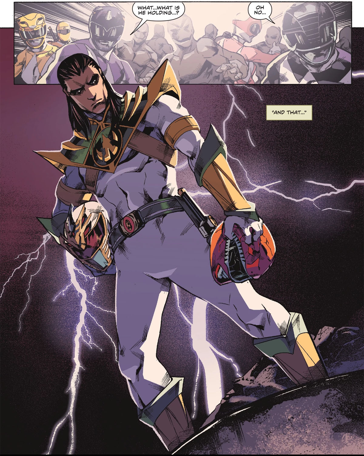 Who Is Lord Drakkon A Quick Guide To Power Rangers Deadly Comic Book Villain Nerdist By modifying her morpher's teleportation function, trini was able to utilize the parts of the fallen black dragon after reprogramming it ahead of time. nerdist