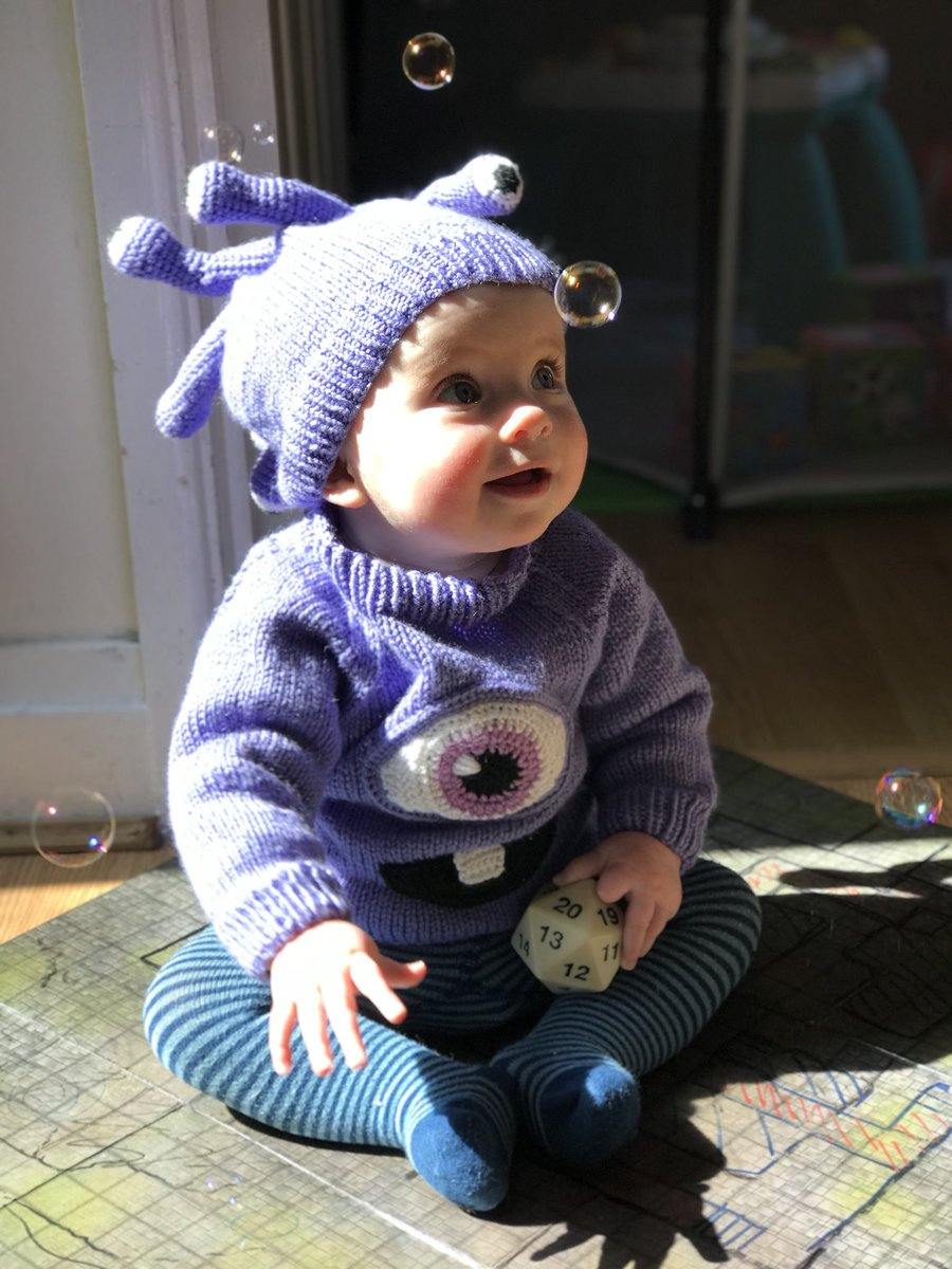 This DUNGEONS & DRAGONS Baby Beholder Costume Will Paralyze