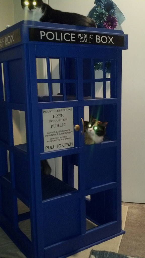 doctor who cat tree