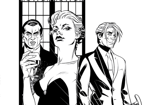 Exclusive Preview: The Art of Brian Stelfreeze Has its Day in DAY MEN: PEN & INK #1