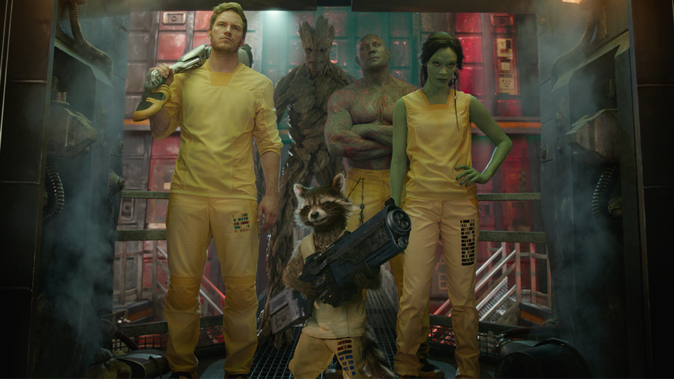 Someone Mashed Up FRIENDS and GUARDIANS OF THE GALAXY