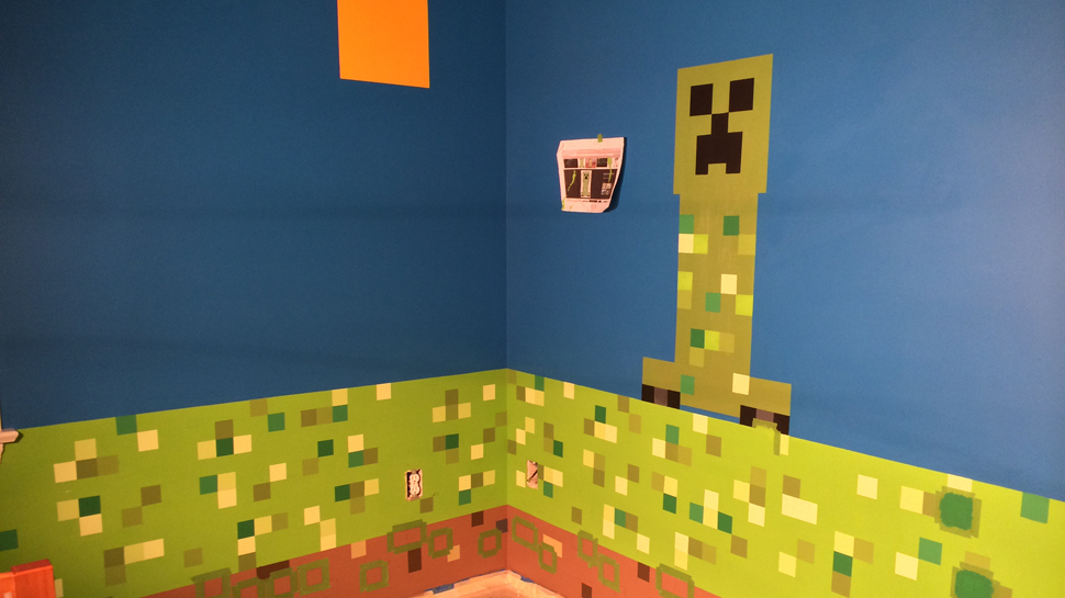 DIY MINECRAFT Room
