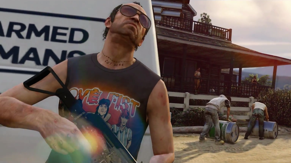 GRAND THEFT AUTO V to Release This November on PS4, Xbox One, Later On PC