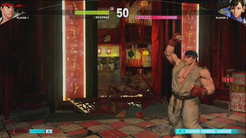 Destructible Stages Revealed In First Ever Live STREET FIGHTER V Match