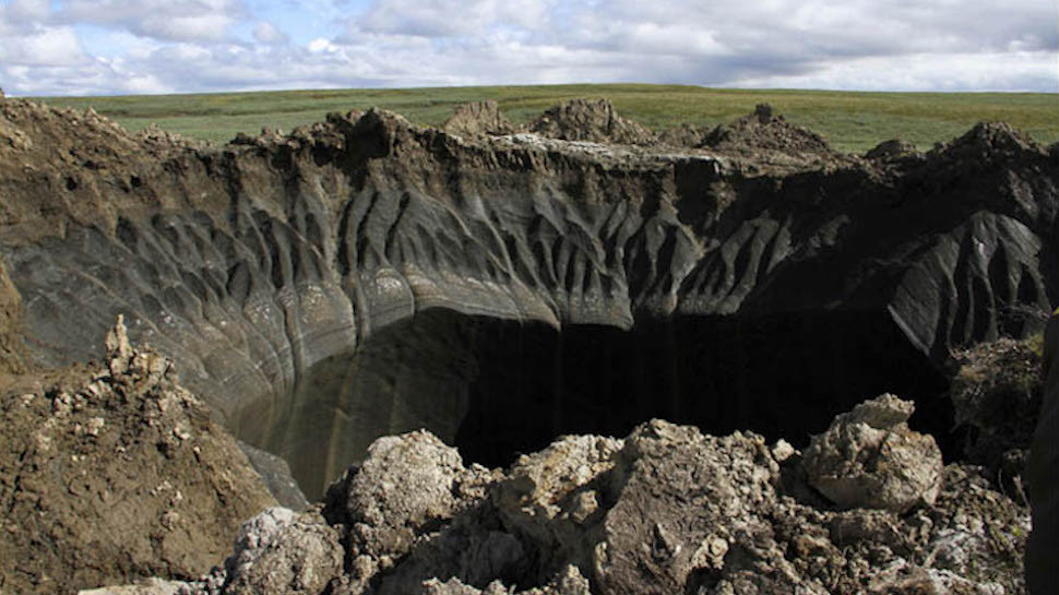 Northern Russia Marred with Dozens More Exploded Craters