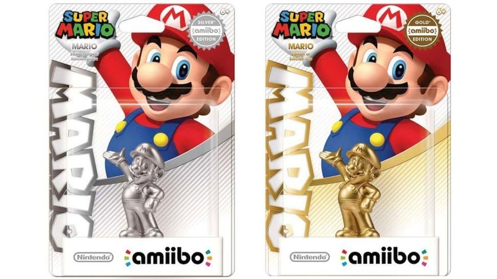 Gaming Daily: These Silver and Gold Mario Amiibo Figurines Look Awesome