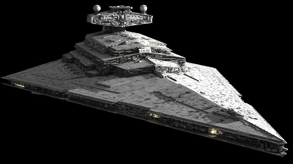 Imperial Star Destroyer For Sale – One Previous Owner