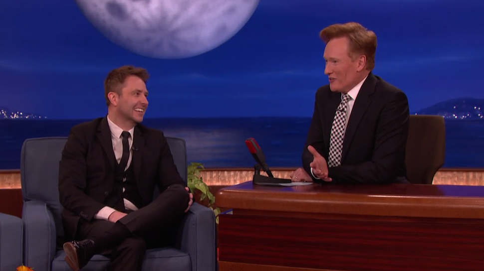 Chris Hardwick Visits CONAN & The Instagram Is Just Too Right