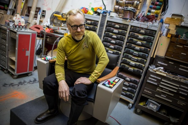 Captain Adam Savage