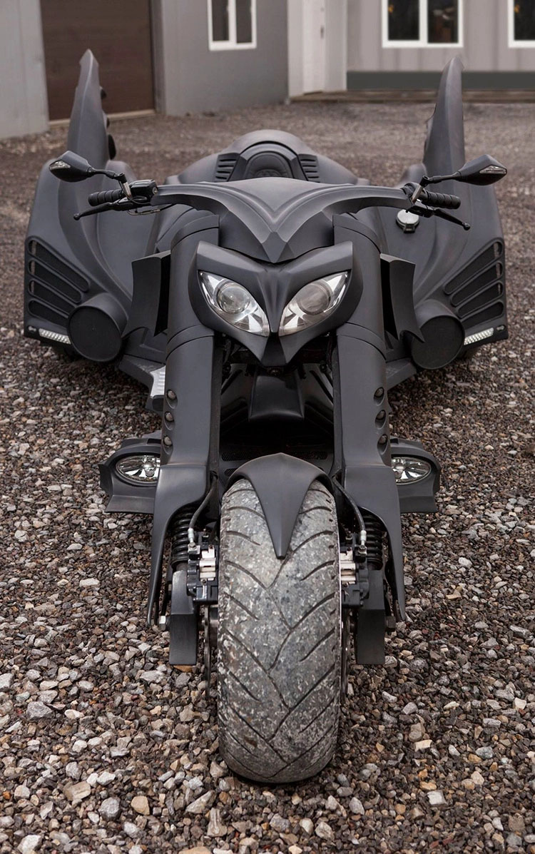 Batmobile Cycle 3