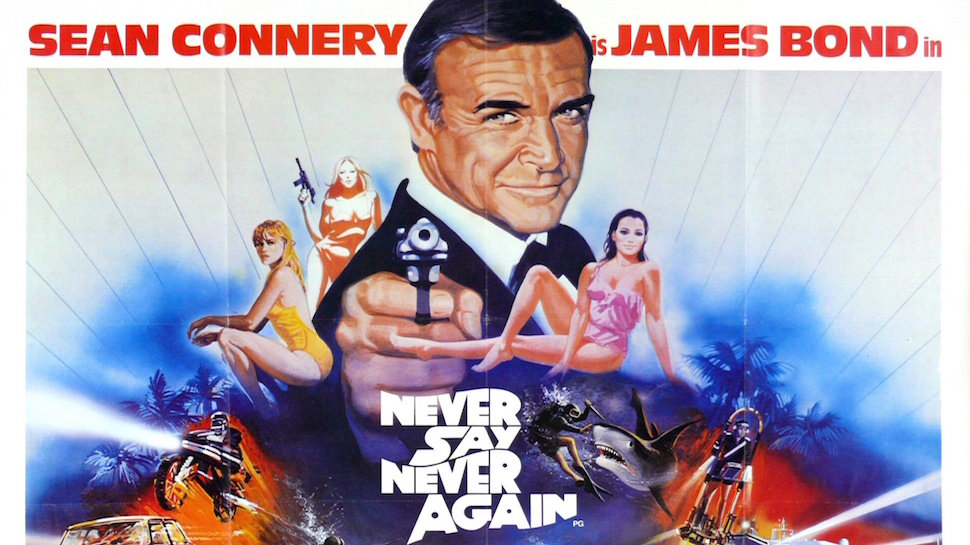 James Bonding #028: NEVER SAY NEVER AGAIN with Aaron Abrams