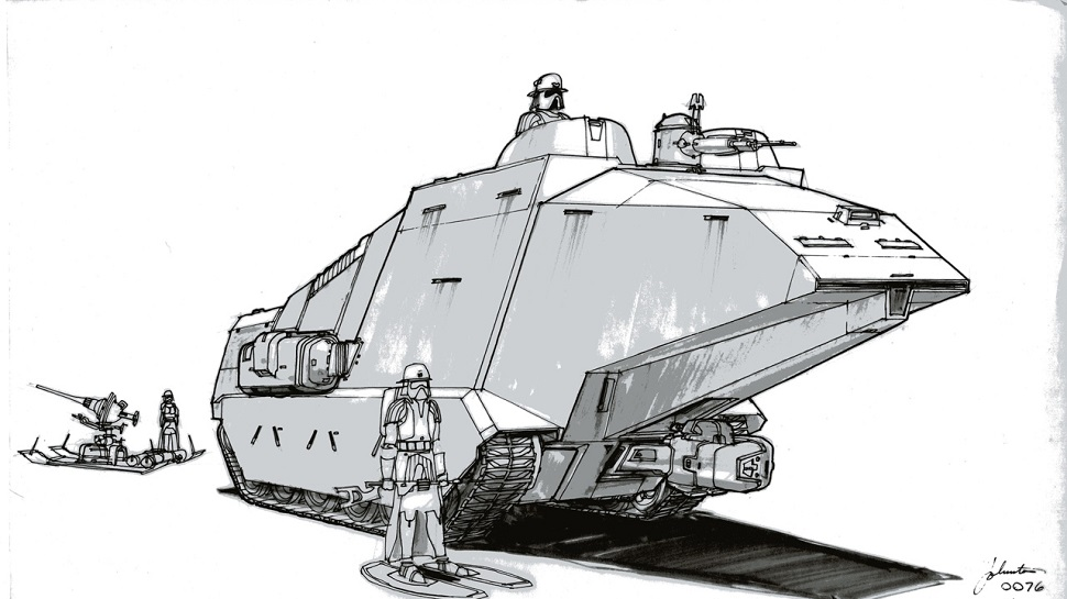 Joe Johnston's STAR WARS Concept Art is Still Awesome 35 Years Later