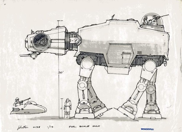 Joe Johnston S Star Wars Concept Art Is Still Awesome 35