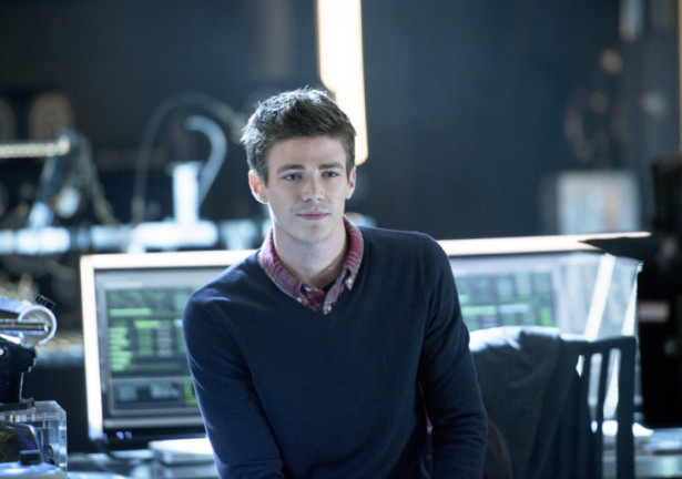 "Arrow -- ""Three Ghosts"" -- Image AR209b_0440b -- Pictured: Grant Gustin as Barry Allen -- Photo: Diyah Pera/The CW -- © 2013 The CW Network, LLC. All Rights Reserved"