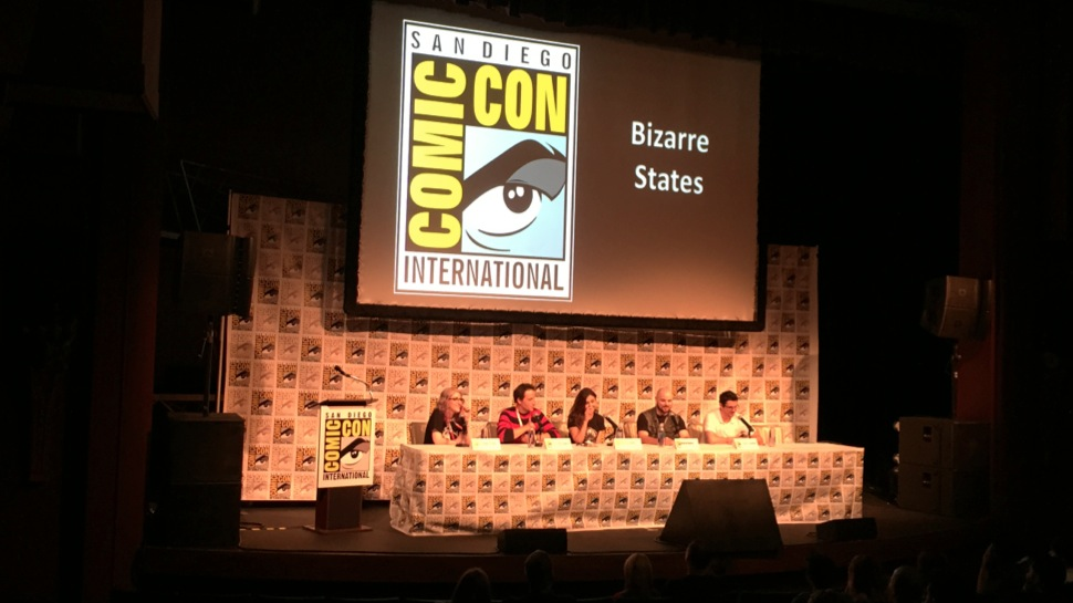 Bizarre States #41: Live from SDCC with Ashley Troub, Jovenshire and Jonny Loquasto
