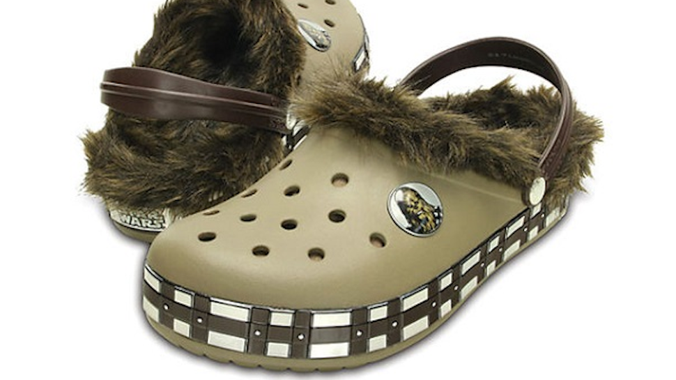 Chewbacca Crocs: Comfort for When You Pull a Droid's Arm Off