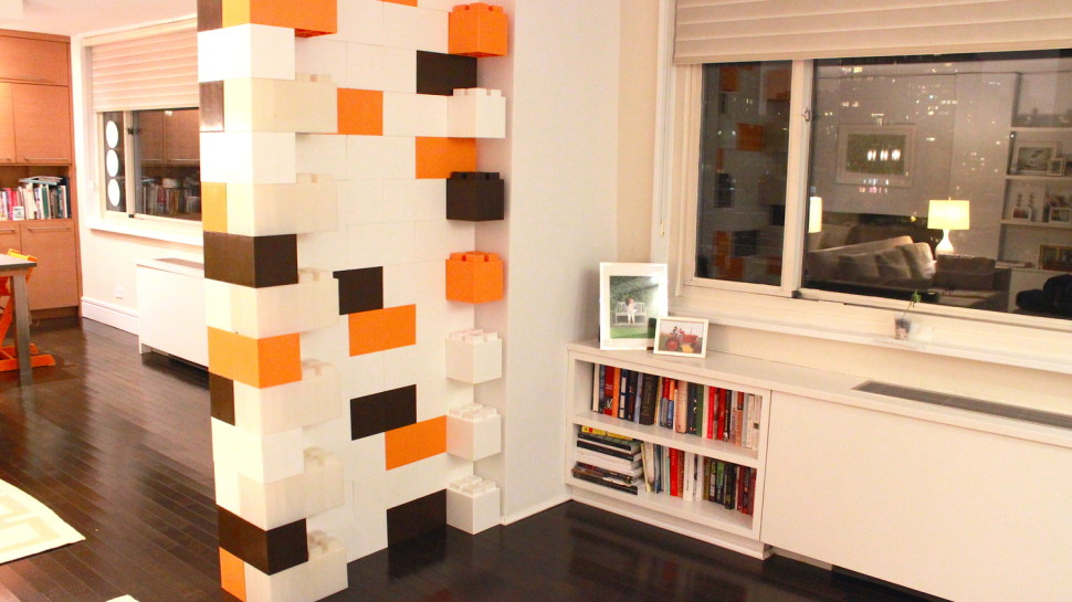 Furnish Your Home with Life-Size LEGO Bricks