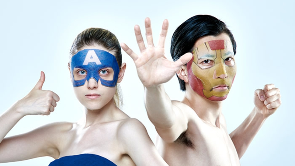 beautify the marvel way with avengers face masks nerdist