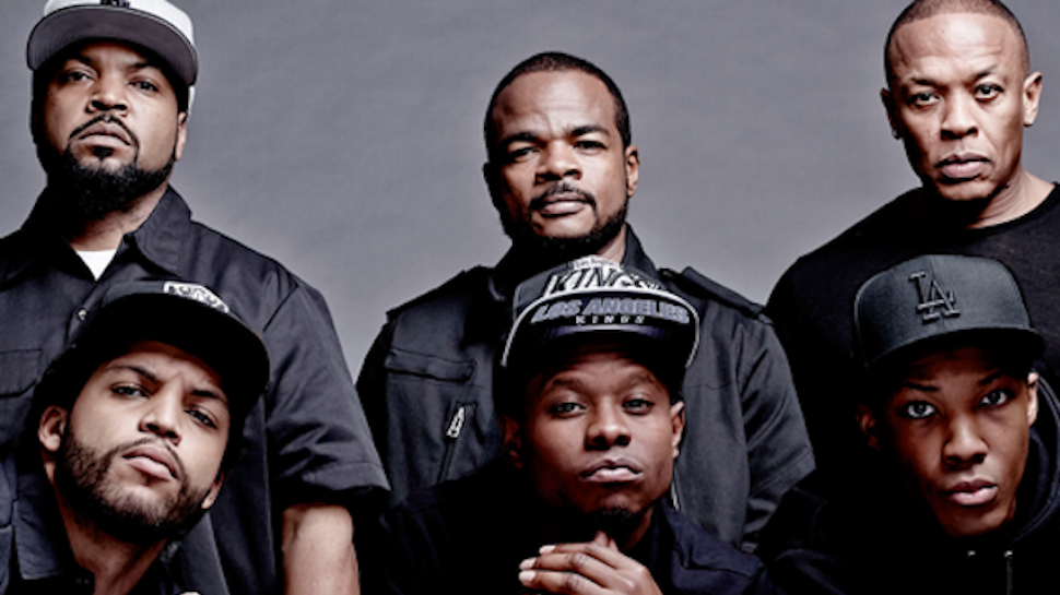 Livestream The STRAIGHT OUTTA COMPTON Panel Right Now