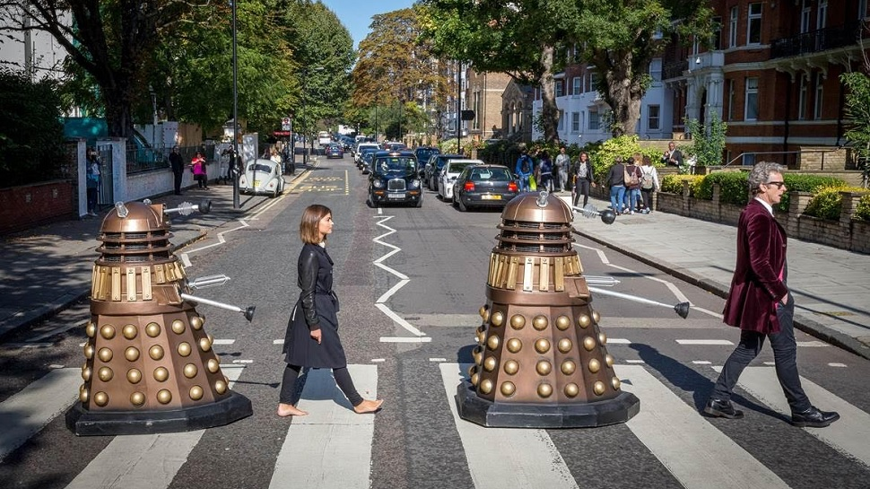 DOCTOR WHO Goes ABBEY ROAD In New Promo Image