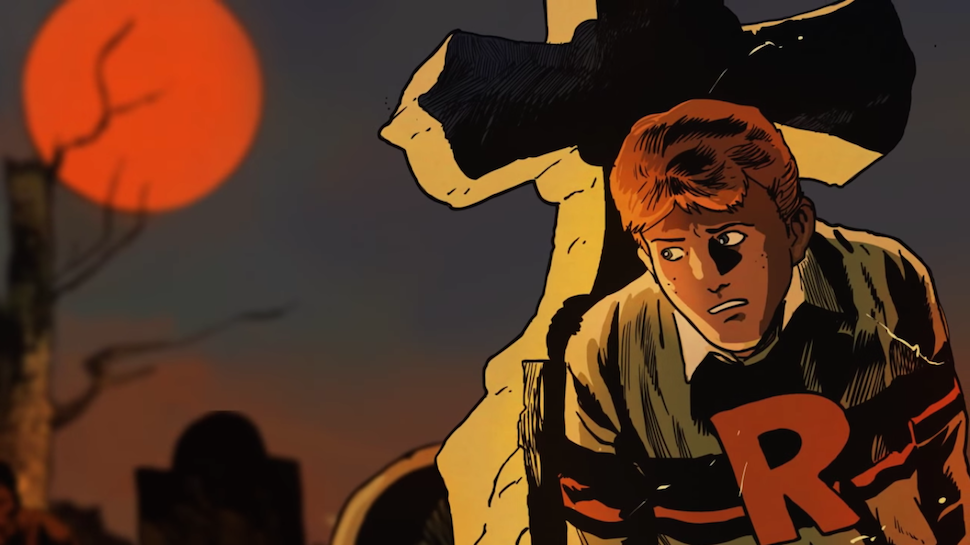 Archie Comics' Roberto Aguirre-Sacasa Talks RIVERDALE & Afterlife with Archie at NYCC