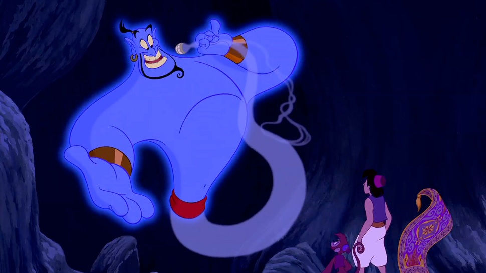 Blu-ray Review: Disney's ALADDIN is a Showcase of Music, Image, and Robin Williams