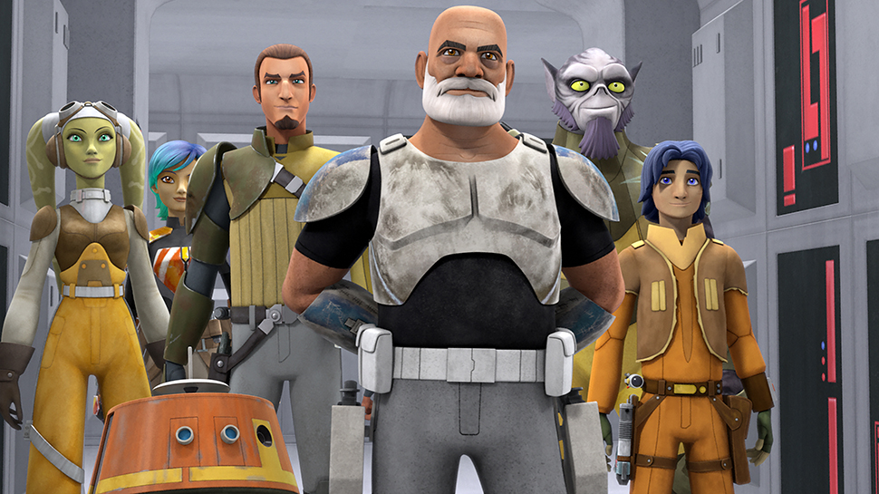 STAR WARS REBELS Executive Producer and Cast On What to Expect from Season 2