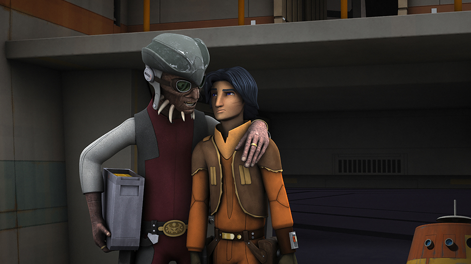 STAR WARS REBELS Review: 'Brothers of the Broken Horn'