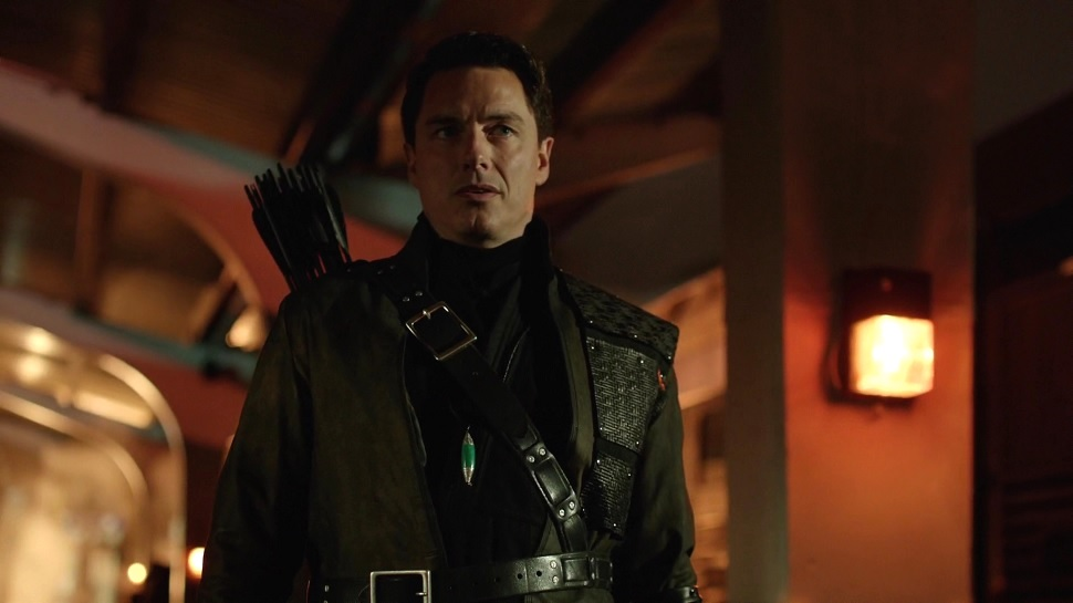 ARROW'S John Barrowman Hints at Big Changes for Malcolm Merlyn