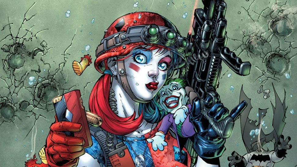 Comics Relief: HARLEY QUINN & THE SUICIDE SQUAD Get an April Fool's Special