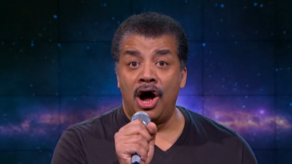 Neil deGrasse Tyson Drops Science (and the Mic) on B.o.B